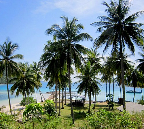 Come to paradise. Come to Selat Rangsang  Beach